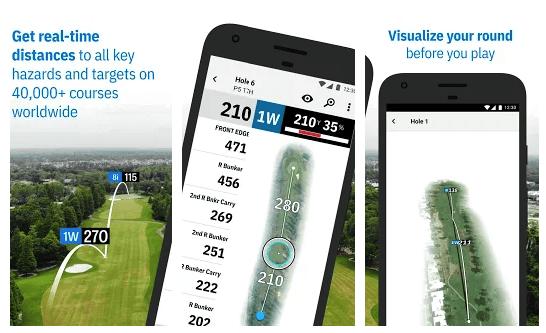 Golfshot Golf GPS Scorecard