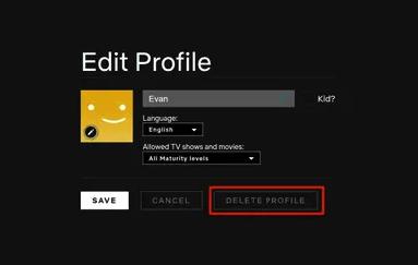 Netflix-edit-profil