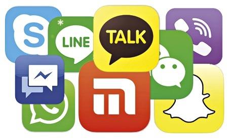 app de messagerie